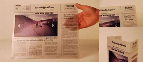 Foldable Digital Newspapers