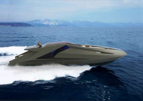 Supercar-Inspired Boats