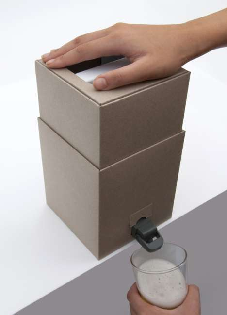 Cardboard Beer Boxes - New Eco-Friendly Cardboard Kegs Will Revolutionize the Way You Drink