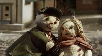 Heartbreaking Snowman Ads
