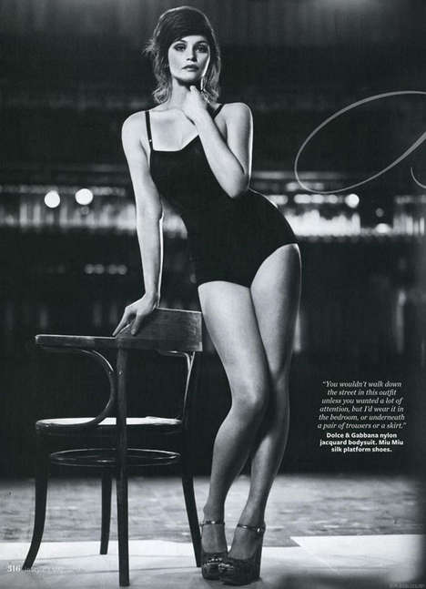 Hepburn-Inspired Shoots