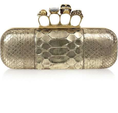 Knuckle Busting Purses - Alexander McQueen Knuckle Duster Clutches