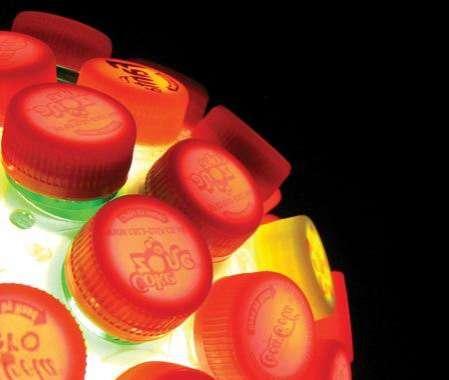 Bottle Cap Lamps