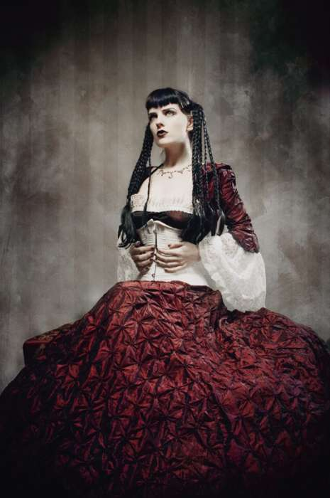 Sensual Gothic Beautography - The Erotic Works of Chad Michael Ward