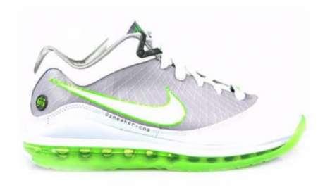 Bright Lime Court Kicks