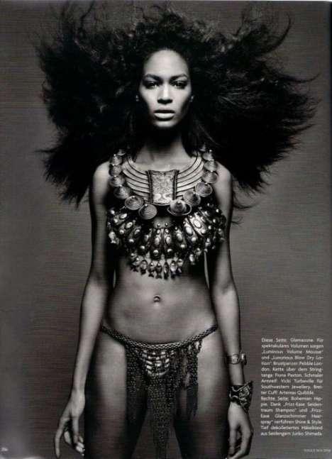 Voluminous Tribal Hairtography
