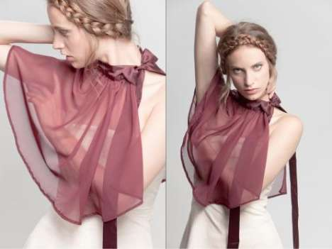 Sheer Romantic Bibs