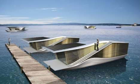 Solarized Floating Homes