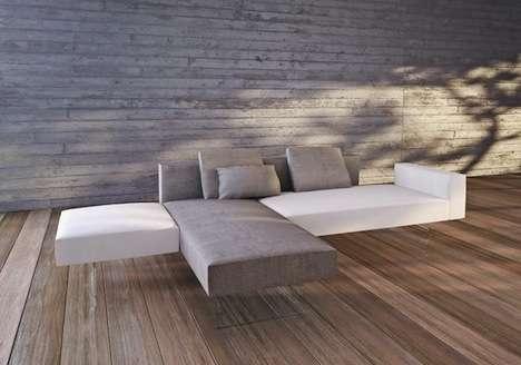 Floating Block Sofas