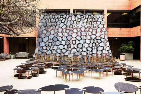 Cascading Table Courtyards