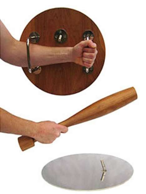 Table Weapons - Keep Zombies & Burglars at Bay With  the 'For Zombies' Table