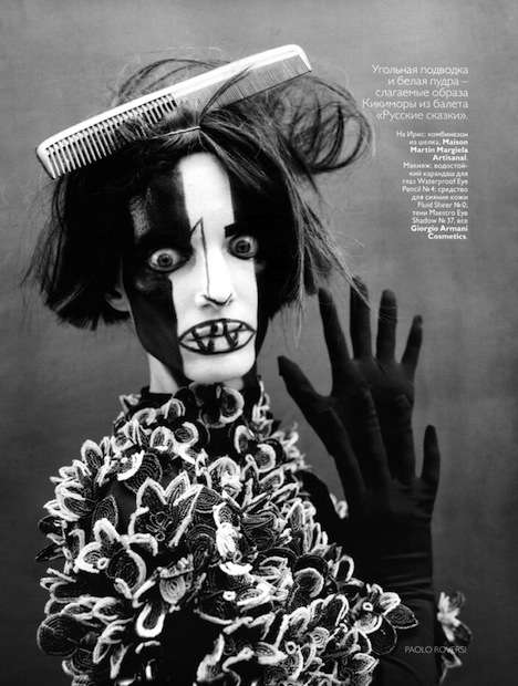 Vogue Russia May 2010 Editorial is Spooky Yet Ethereal