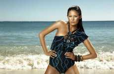 Tribal-Inspired Swimwear