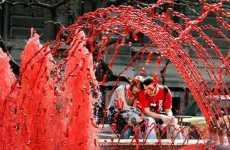 Blood-Spouting Fountains