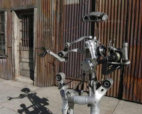 Car Wreck Robots