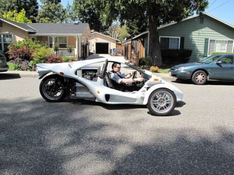 Uber-Efficient 3-Wheelers - The E-Rex Trike by OptaMotive is 3 Times More Efficient Than a Prius
