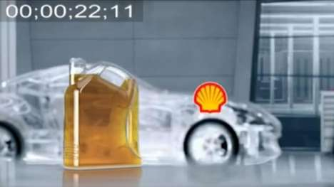 See-Through Motor Oil Ads