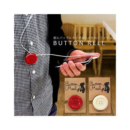 Earbud Reels - The Button Reel Keeps Your Headphones in Check