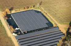 Waterborne Solar Arrays - Solar-Powered Winery Uses Floating Power Panels (UPDATE)