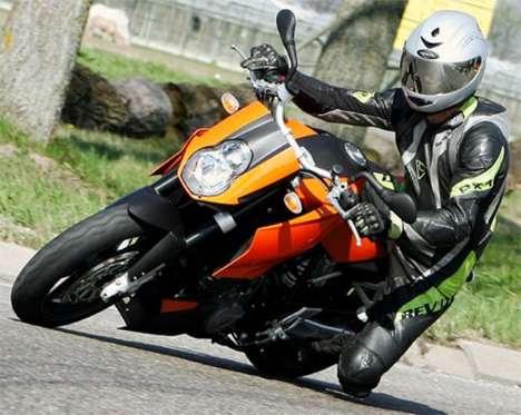 Mirrored Motorcycle Helmets