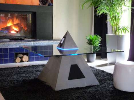 Temple iPod Tables - The Horus Coffee Table by Stephane Thivend