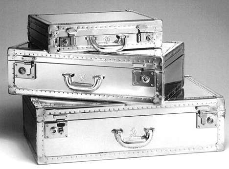 Reflective Suitcases
