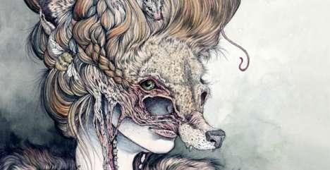 Animalistic Human Hybrids