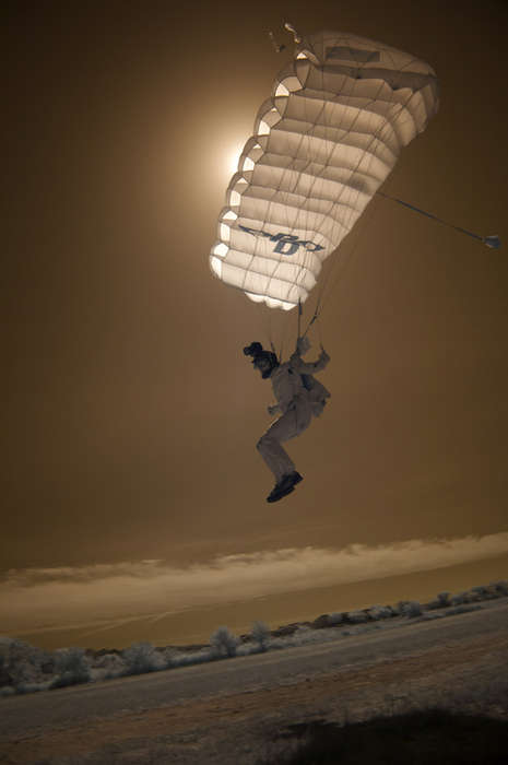 Spacey Parachute Photography