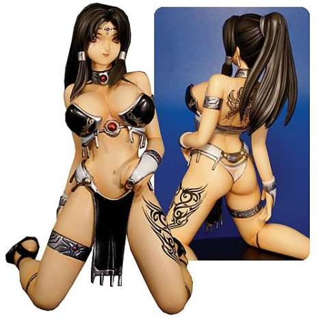 Bodacious Anime Statues - Cartoon Pin-Up Figurines are Bustin' Out All Over