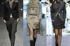 Layered Utilitarian Fashions - The Banana Republic Fall Collection is Stylishly Practical