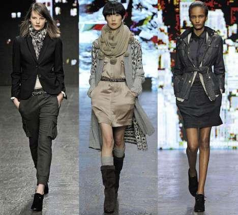 Layered Utilitarian Fashion