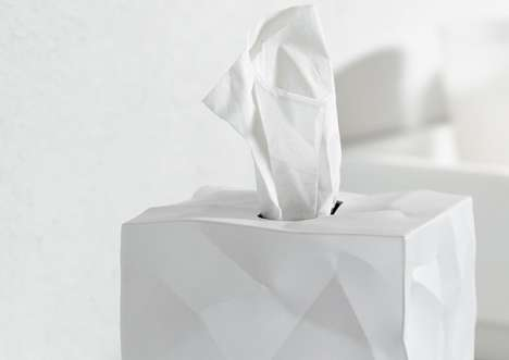 Crumpled Tissue Boxes