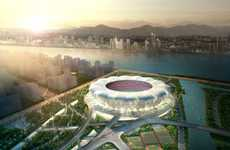 Daisy-Like Stadiums - The Breathtaking Hangzhou Sports Park Stadium by Nbbj
