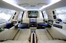 Executive Mobile Offices - CEOs Can Ride and Work in LimousinesWorld's Cars