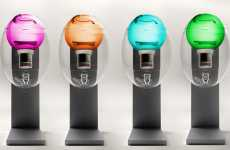 Colorful Transparent Dispensers