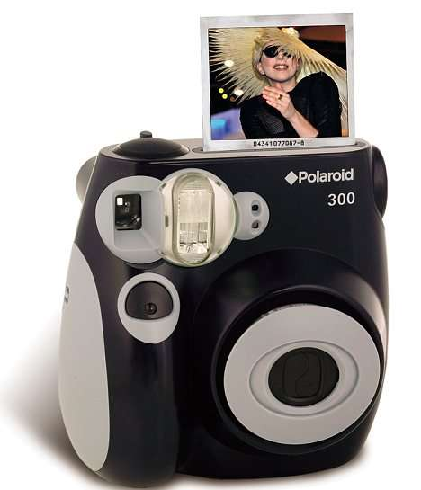 Lady Gaga Designs the Polaroid 300 to Reinvent a Classic