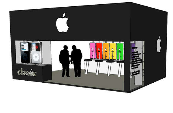 Pop-Up Mac Stores