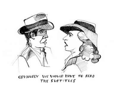 Eavesdropping Illustrations