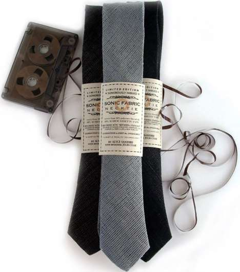 Cassette Tape Ties