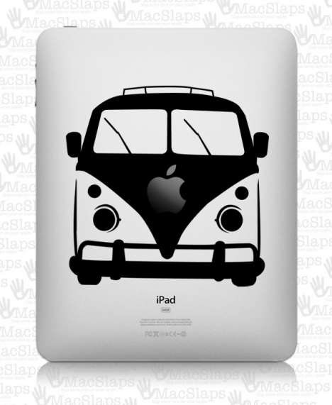 Retrofied iPad Stickers