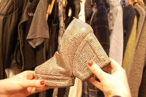 Collapsible Croc Shoes