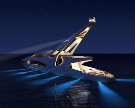 Ocean-Illuminating Yachts