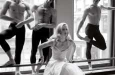 Prima Ballerina Pictorials - 'Curtain Call' in Elle Shows the Life of a Fashion-Forward Dancer