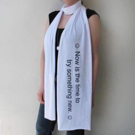 Fortune Cookie Scarves