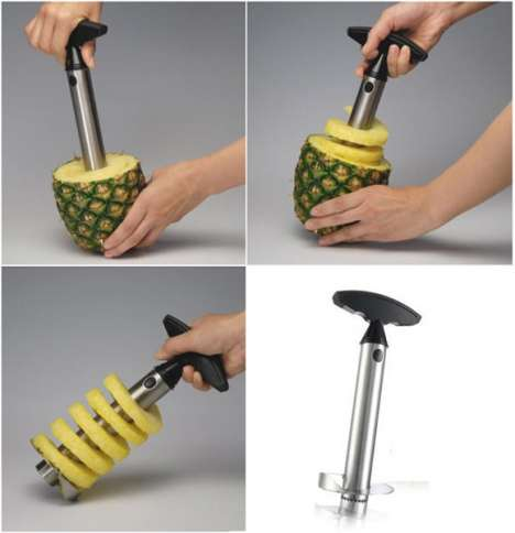 Curlycue Pineapples