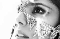 Diamond-Encrusted Masks