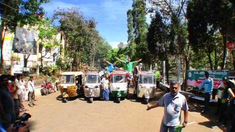Extreme Rickshaw Races