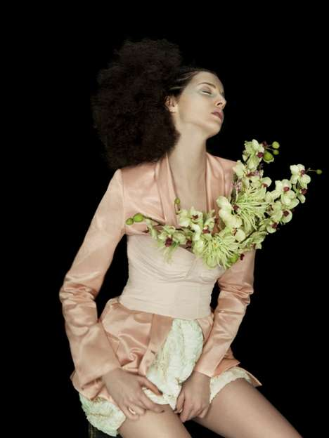Sensual Florist Photography