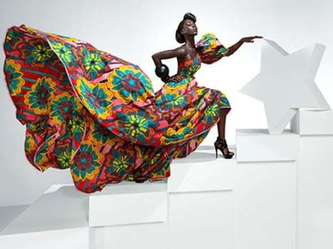 Dramatic African Fabrics