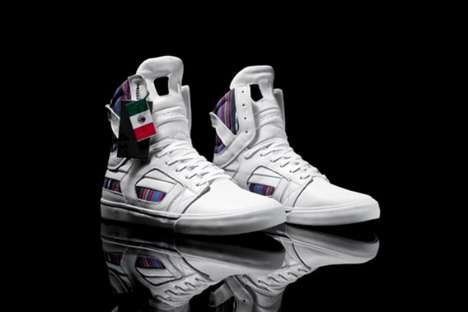 Mexican Holiday High-Tops